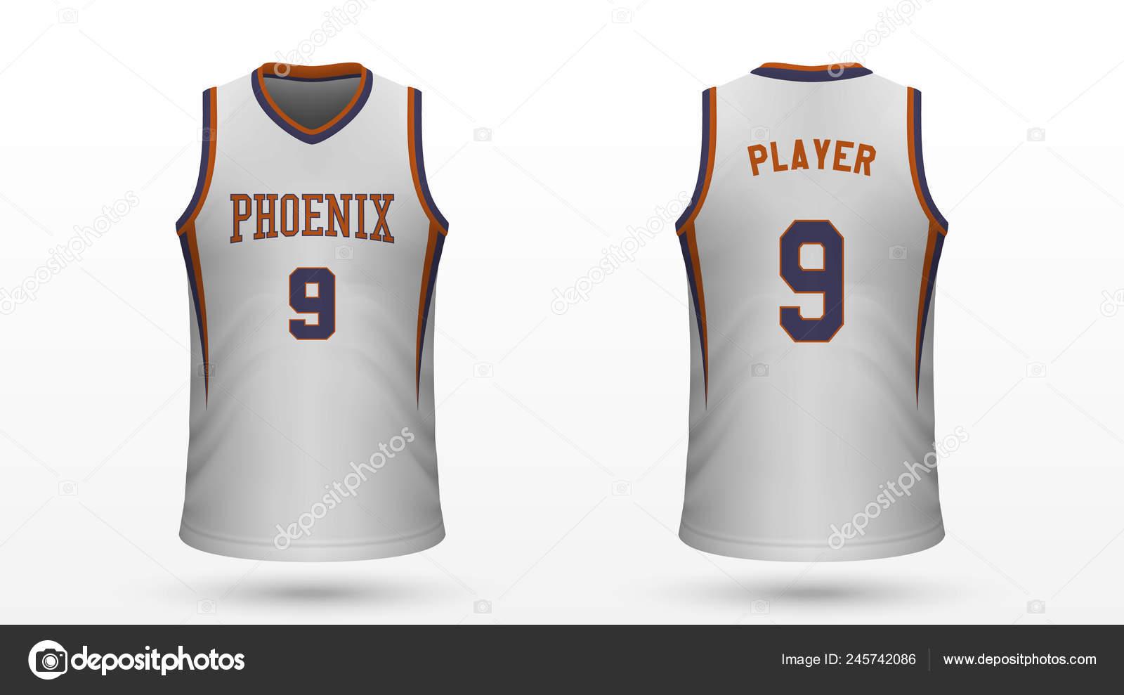 sneakers for cheap a1676 3162d Vector: phoenix suns logo | Realistic Sport Shirt Phoenix ...