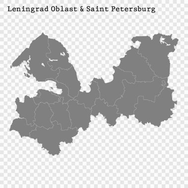 High Quality map is a region of Russia