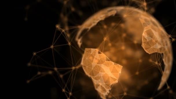Digitální glóbus. složitost a záplava dat moderního digitálního věku