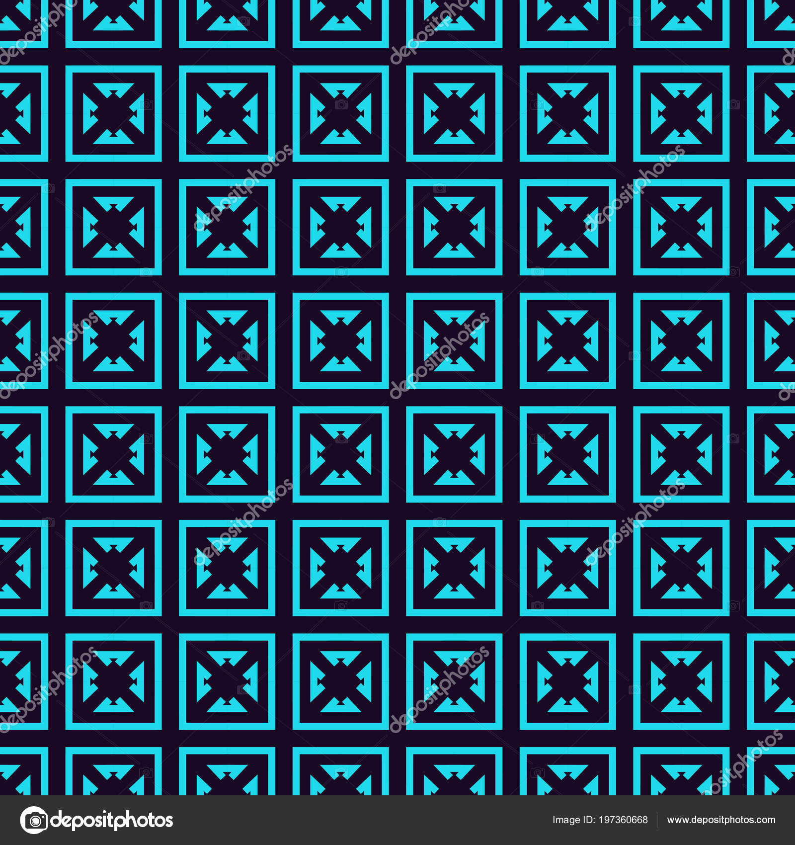 Vector Seamless Pattern Modern Stylish Linear Texture Repeating ...