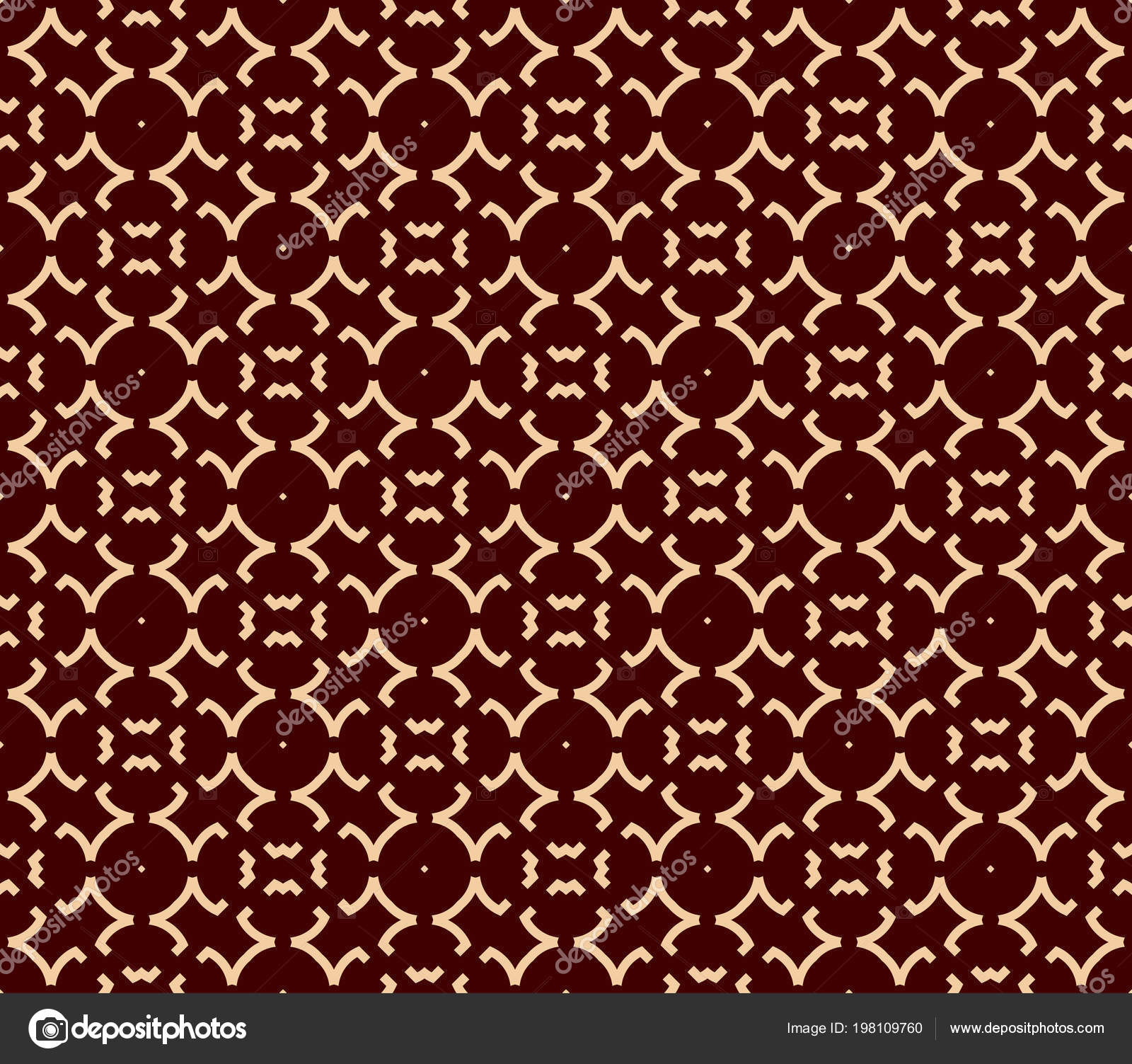 Seamless Geometric Line Pattern Contemporary Graphic Design Endless Linear Texture