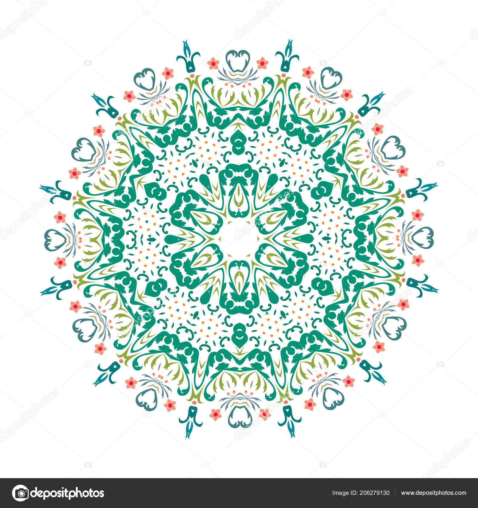 Mandala Vector Floral Flower Oriental