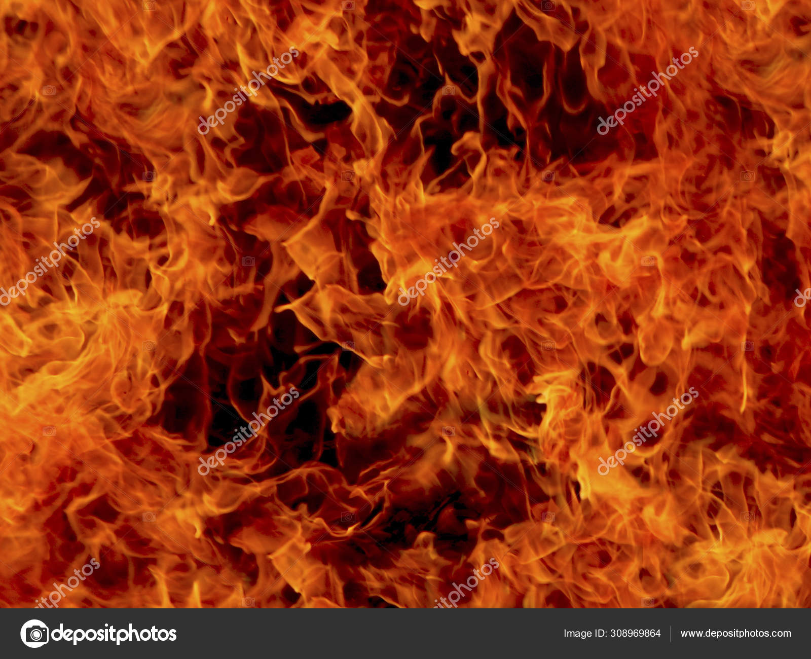 Fire Flames Background Of Flames Stock Photo C Trewq7239 308969864