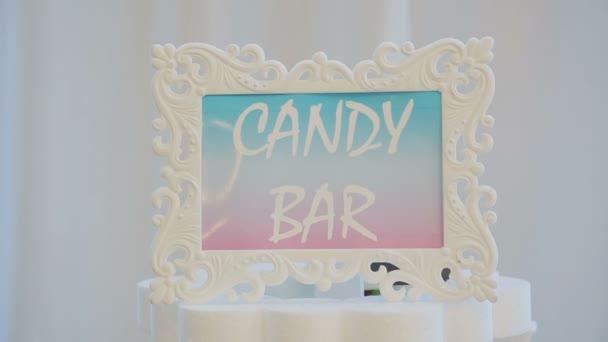 cake.Candy Bar Wedding, candy buffet.
