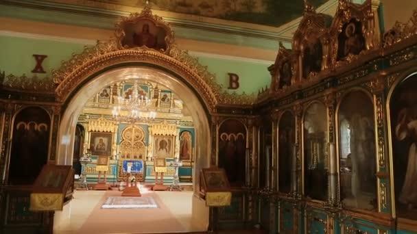 Příslušenství kostel uvnitř kostela