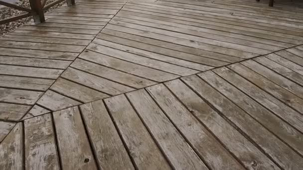 Loopable background animation of wooden planks
