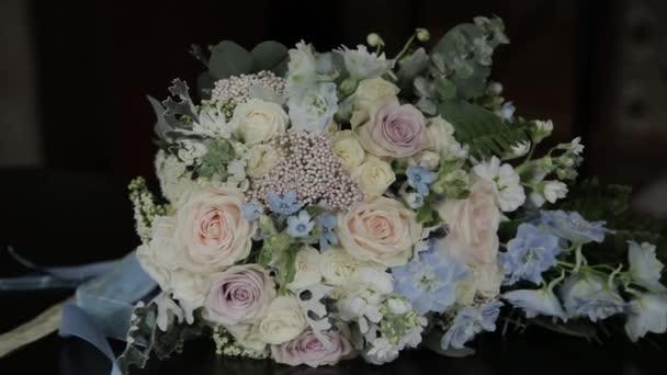 Svatební kytice z krásné květiny. Svatební květiny