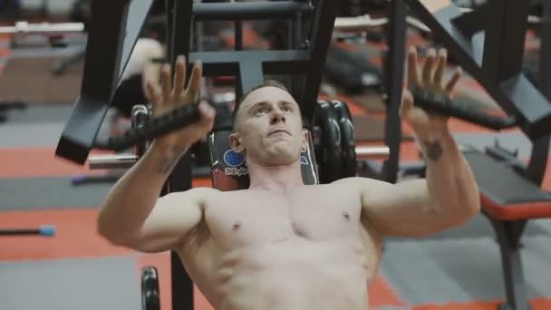 Nudo modelli di fitness video