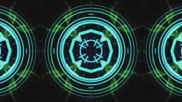 Festival Ultra Music kaleidoskop box pozadí hypnotický box fáze vizuální smyčka barevný pohyb pozadí disco spektrum lehký koncert bodový světelný zdroj abstraktní rámeček vícebarevný pohyb grafika pole stěna