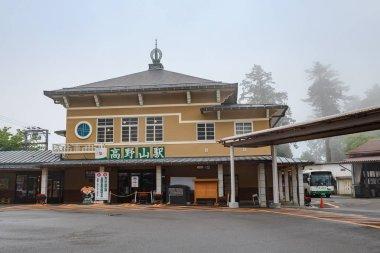 Koyasan train station in Wakayama