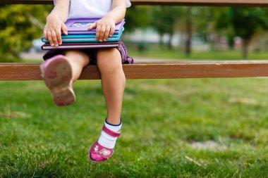 little girl toddler feet
