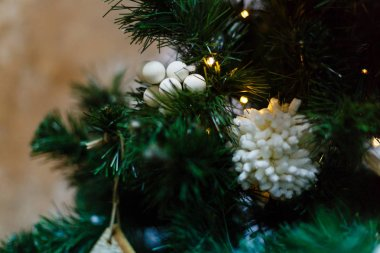 New Year decorations Christmas tree