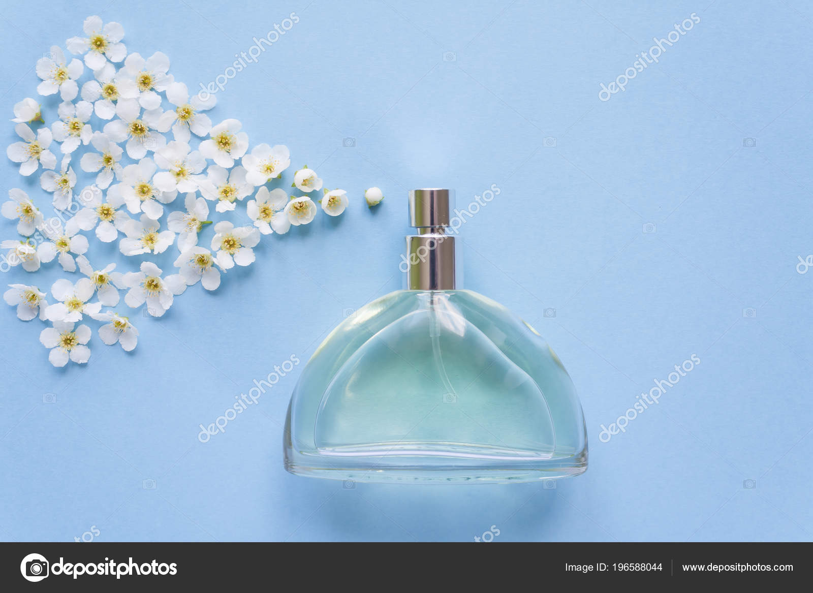 Flower arrangement flowers fragrance perfume blue background stock flower arrangement flowers fragrance perfume blue background stock photo izmirmasajfo
