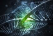 Obrázek na pozadí s Dna molekule výzkumných koncepcí
