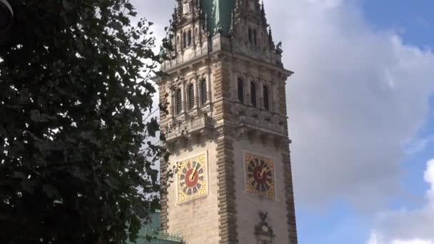 Sede Construido HamburgoAlemaniaEdificio RealTorre Siglo La Xix AyuntamientoEn Hamburgo Tiempo Alcalde Primer Del Es El Fue Con Y Gobierno De Reloj R45AjL