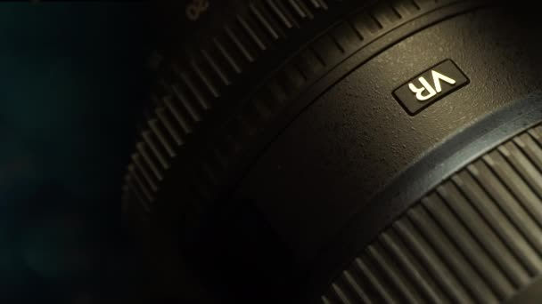 Professional camera lens. Device