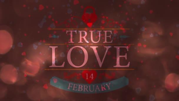 Fényes szív. Valentin-nap. Háttér-val egy piros szívek