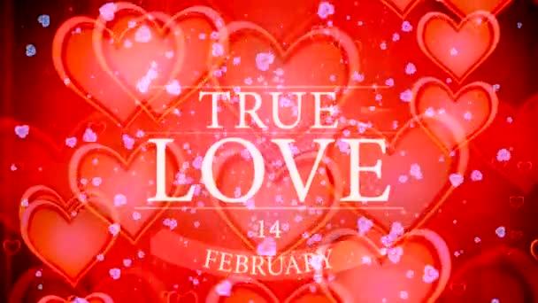 Lesklé srdce. Valentinky den. Pozadí s červenými srdci