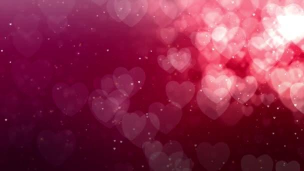 Fényes szív. Valentin-nap. Szívek háttér