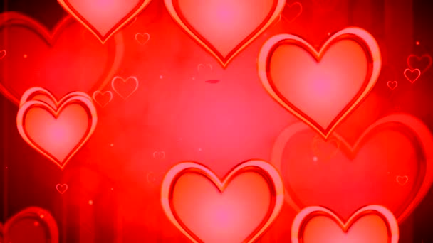 Shiny heart. Valentines Day. Background with hearts