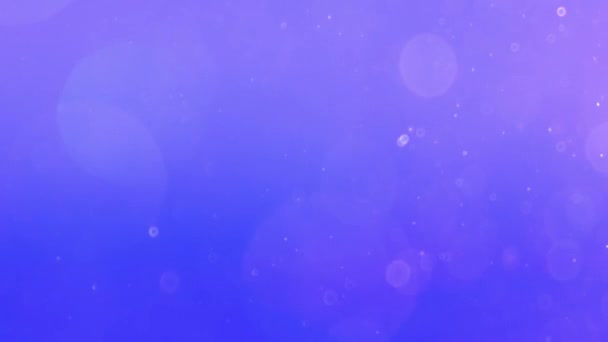 Particle seamless on blue background
