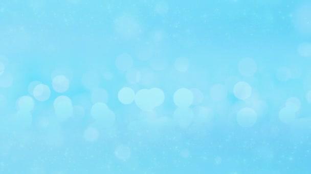 Abstraktní jiskry nebo třpytivá světla. Vánoční animované pozadí
