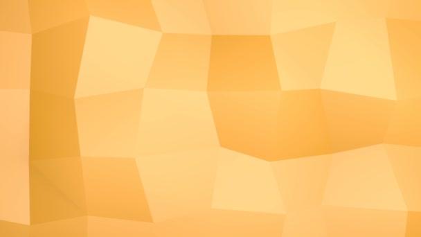 Oranžovo geometrické pozadí v abstraktním dynamickém pohybu