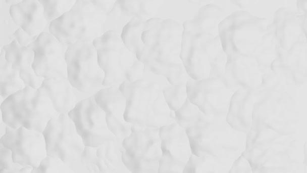 Bílé pozadí s abstraktní povrchovou strukturou v pohybu