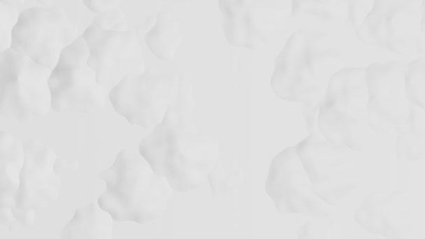 Stylové bílé pozadí s abstraktní povrchovou strukturou v pohybu