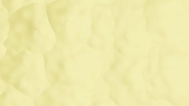 Žluté pozadí s abstraktními povrchovými vlnami, plynulé opakování