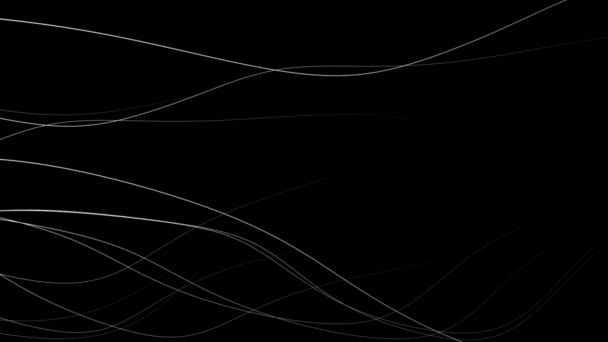 Stylové pozadí zakřivených čar při dynamickém pohybu vln