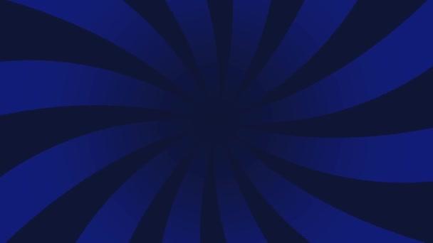 Červená a žlutá sluneční paprskový animace vzorku na pozadí. Barevný zadní pop Motion video.
