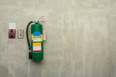 Fire Equipment on the wall