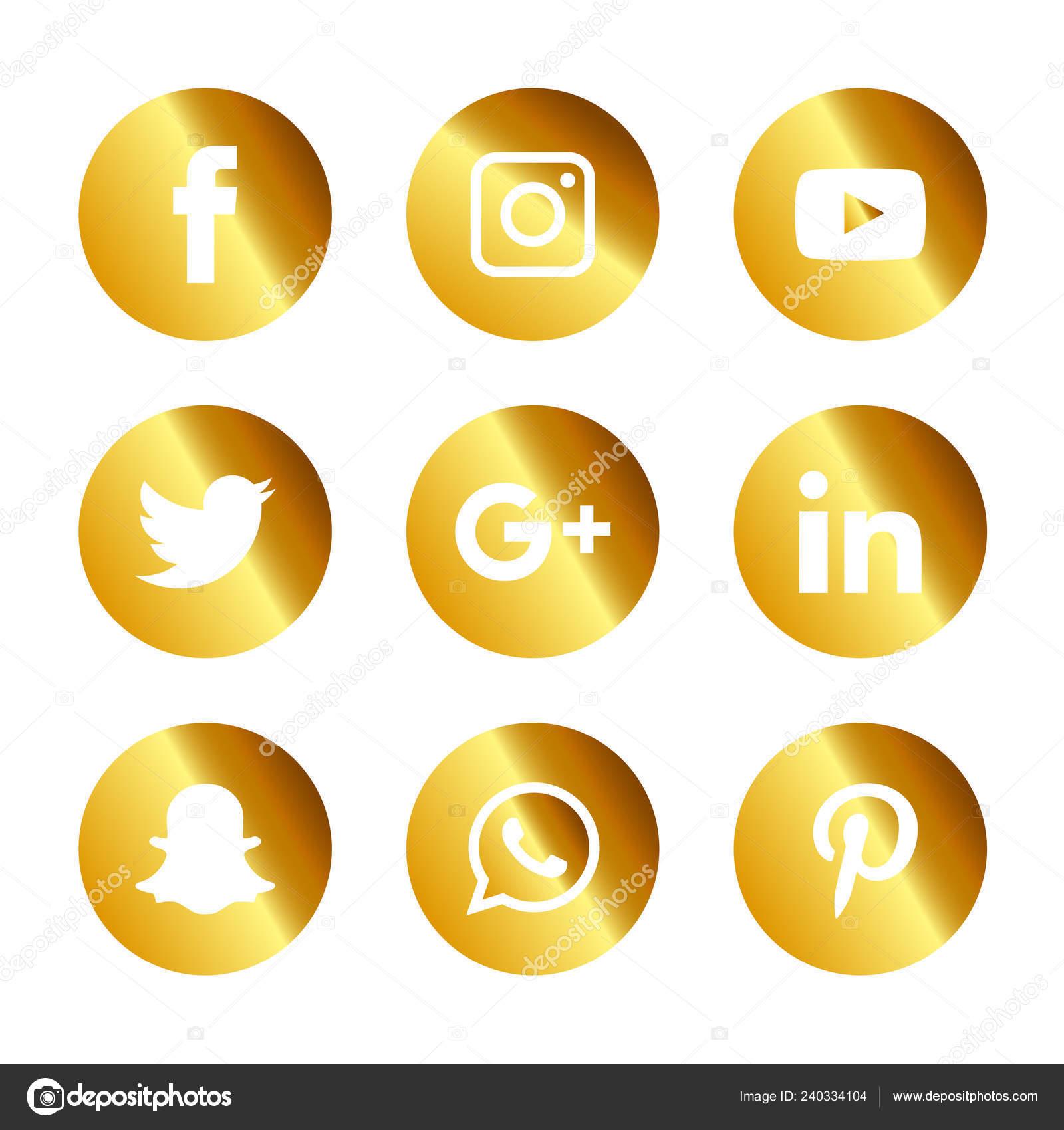 Facebook twitter pinterest instagram icons   Social Media