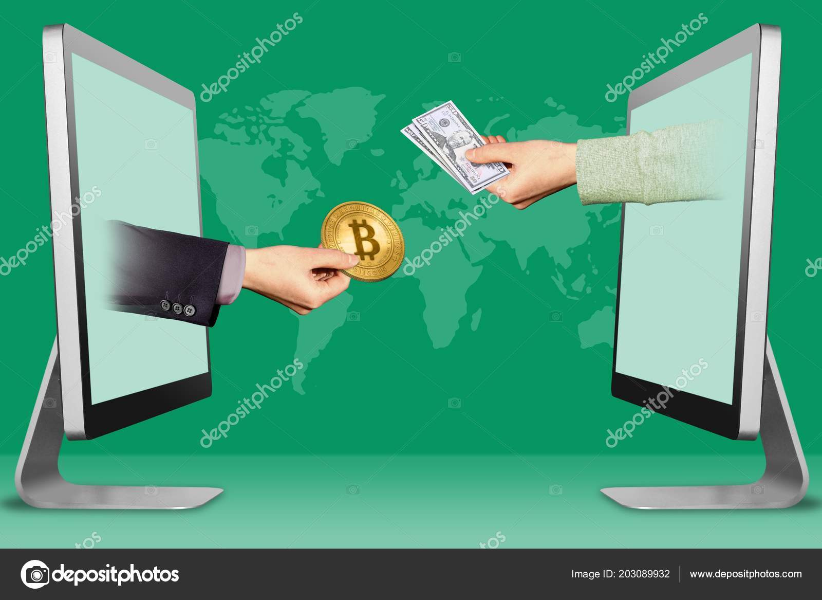 sell bitcoin for cash