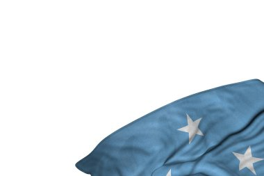 wonderful memorial day flag 3d illustration
