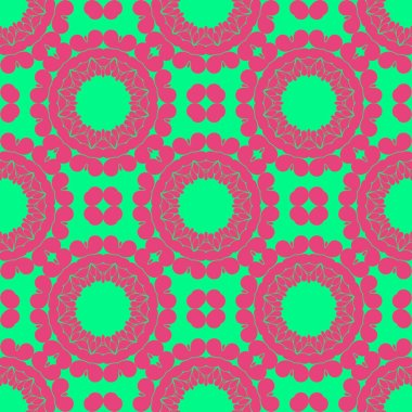 Modern abstract pattern background pink and green
