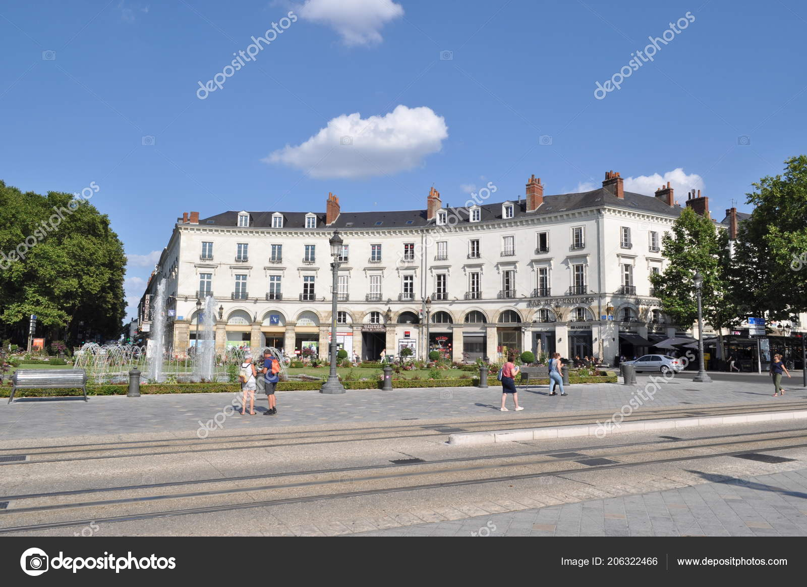 5b12d6311c5dfb France Tours July 2018 Armand Thiery Hotel Univers Kilo Shop – Stock ...