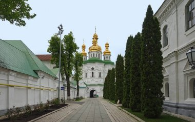 Economic gates of Kiev-Pechersk Lavra