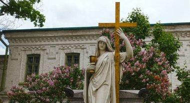 The cenotaph of Ypsilanti at the Kiev-Pechersk Lavra