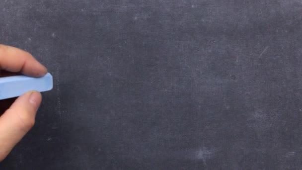 Word BLOG, written by hand in chalk on a blackboard.