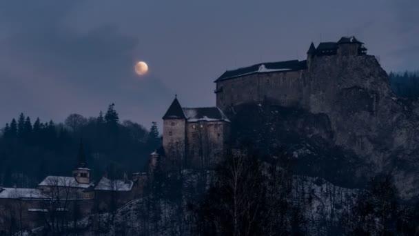 Telihold át Drakula idő telik el a kastély