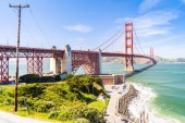 Golden Gate bridge v San Franciscu, Kalifornie, Usa