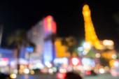 Fotografie Abstrakte unscharfer Hintergrund von Las Vegas Großstadt Cityscape in Nevada, Usa, Nacht