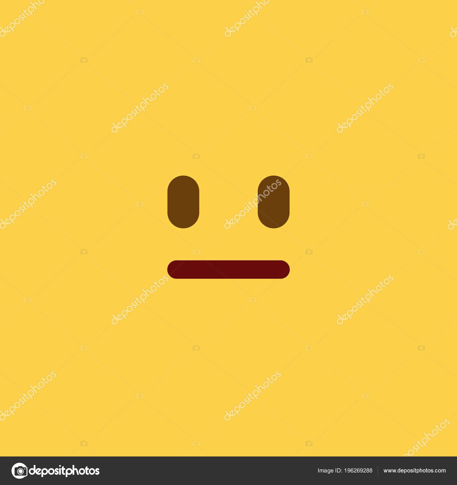 Neutre Carreau Style Emoji Image Vectorielle 5ughra