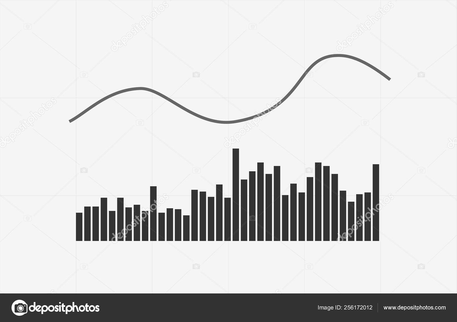 Volume indicator technical analysis  Vector stock and