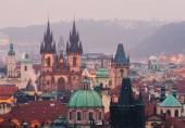Prager Stadtzentrum mit Denkmälern der Antike