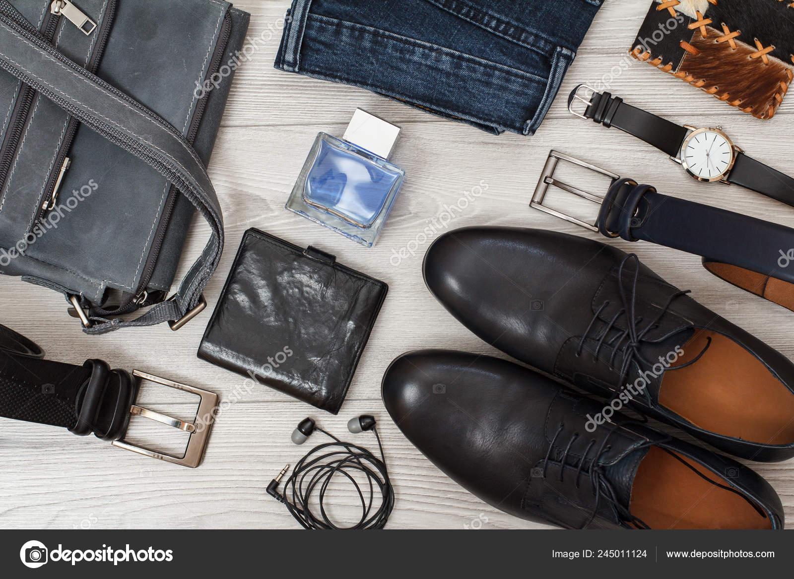 Bolso Cinturones Para Hombres Negro Cuero Par Zapatos Hombre Hombro lKJc1FT