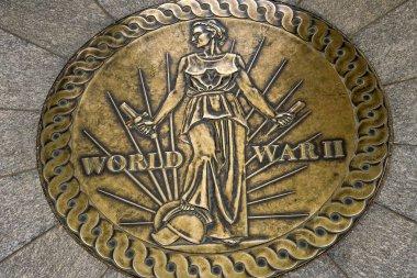 Symbol World War II Memorial National Mall Washington DC