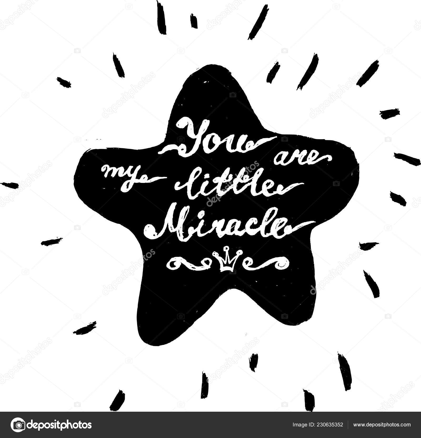 You Are My Little Miracle Stock Vector C Sensitive 230635352